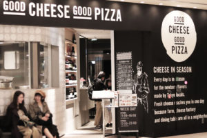 GOOD CHEESE GOOD PIZZA 店頭