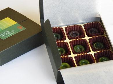 抹茶チョコレートの食べ比べセット