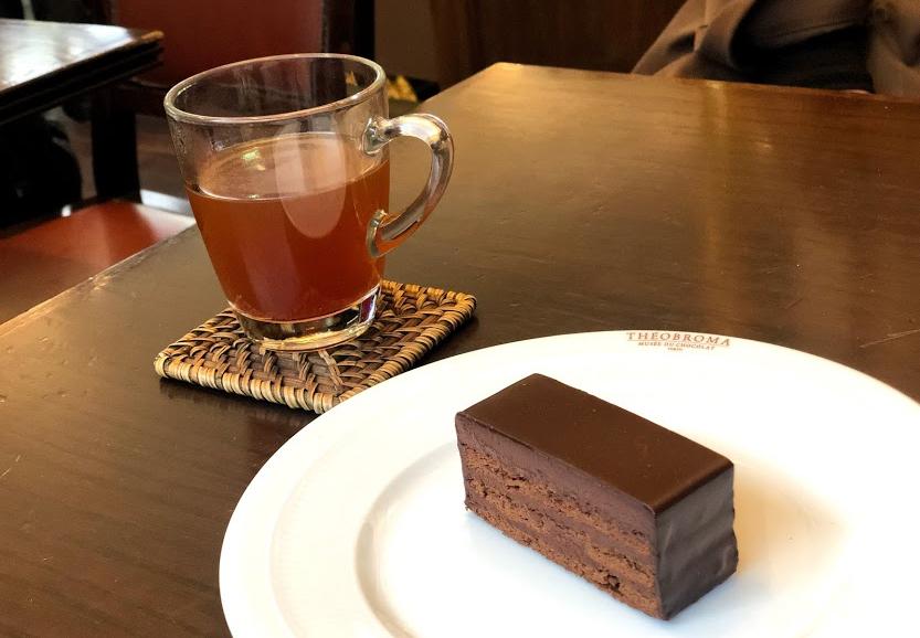 テオブロマ チョコレートケーキ