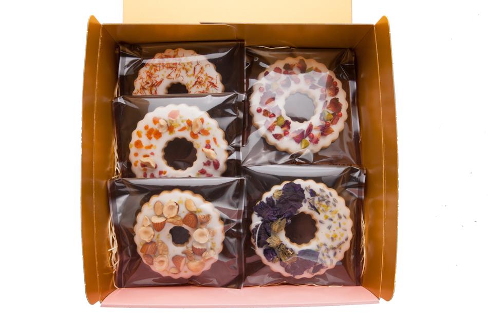 オリジナルクッキー 5枚セット 箱