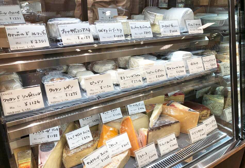 フェルミエ 恵比寿三越店 チーズ2