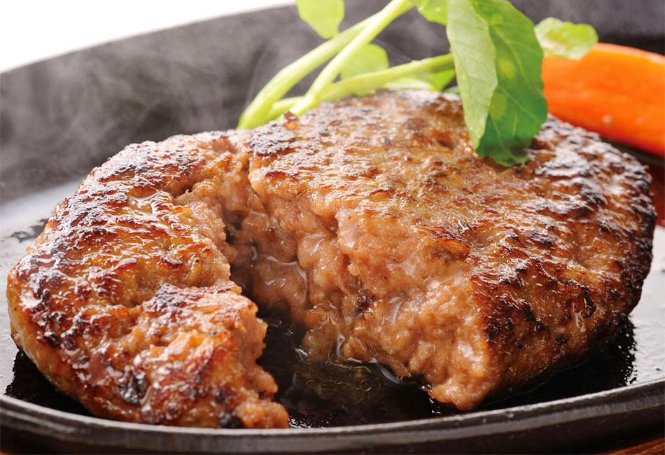 牛たんハンバーグ