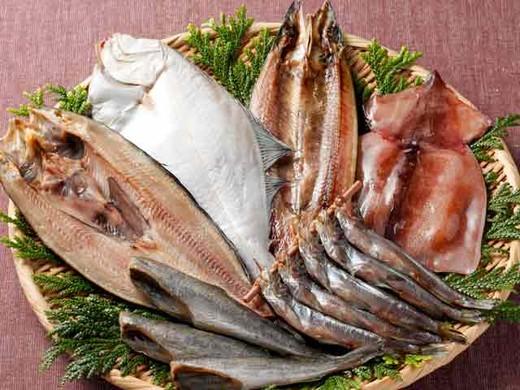 北海道 お試し干物セット(6種類12尾入り)