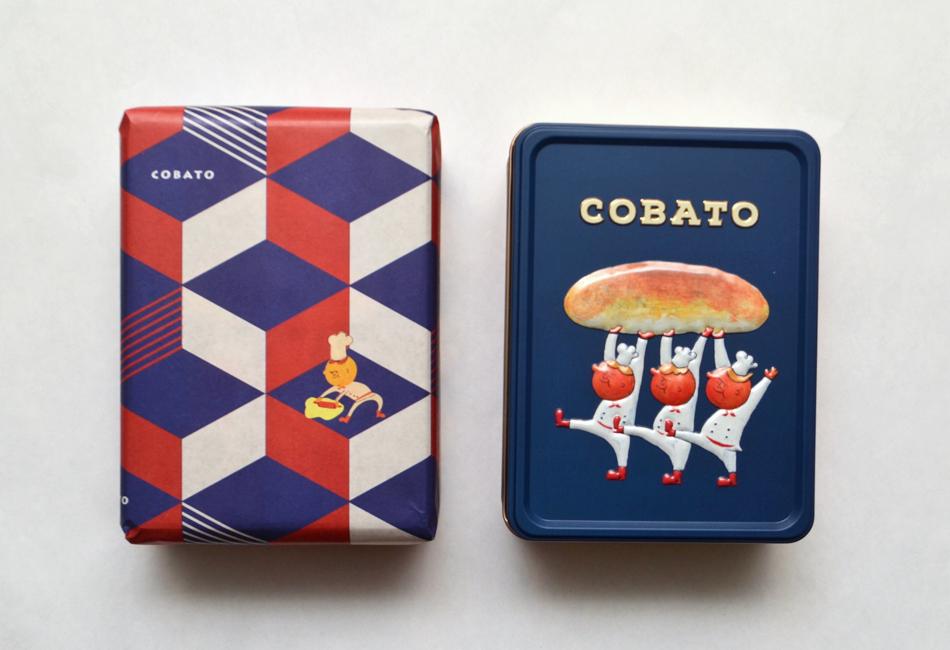 COBATOスペキュロス缶 パッケージ缶