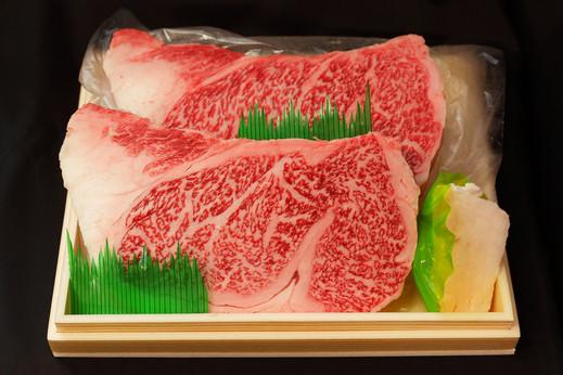 最高級A5仙台牛 サーロインステーキ2枚×200~220g かたい信用やわらかい肉