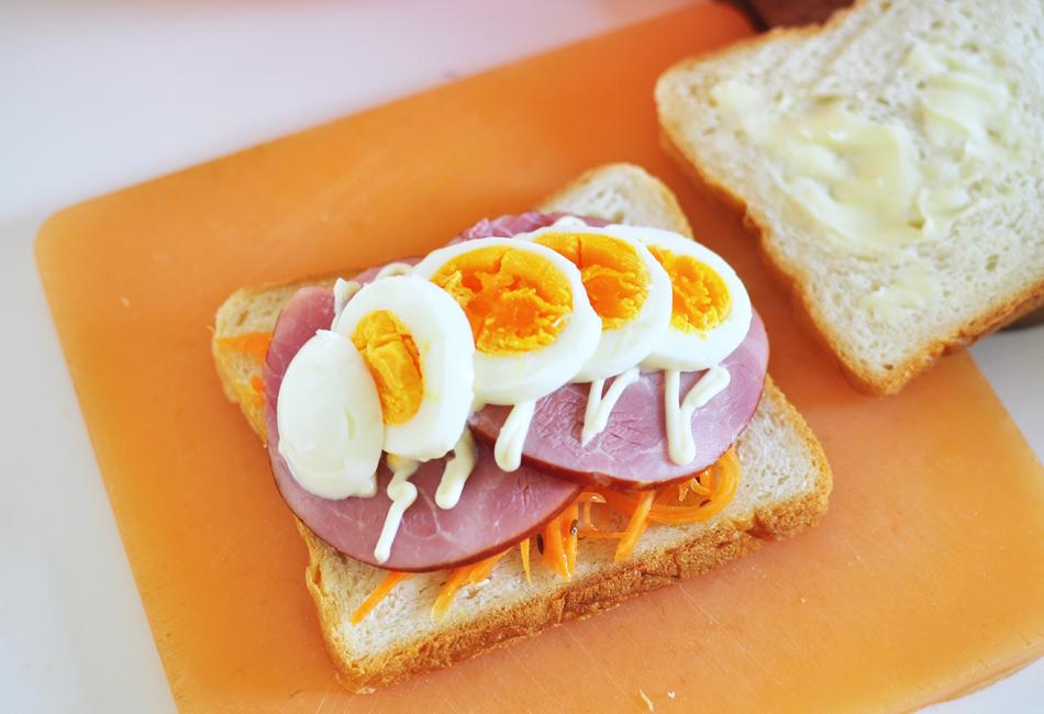 ハウスシンケン サンドウィッチ 卵のせ