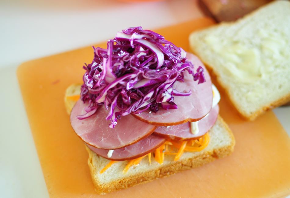ハウスシンケン サンドウィッチ 野菜のせ