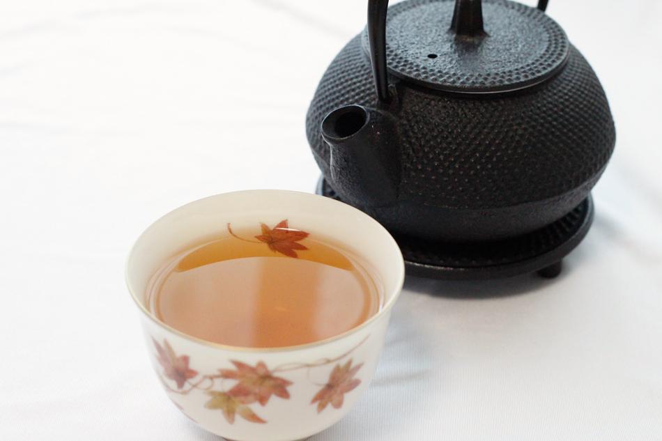 日本茶 シーン ほうじ茶