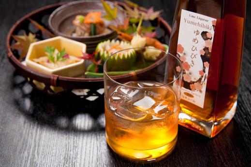 樽仕込高級梅酒 ゆめひびき (500ml) (風呂敷包み)