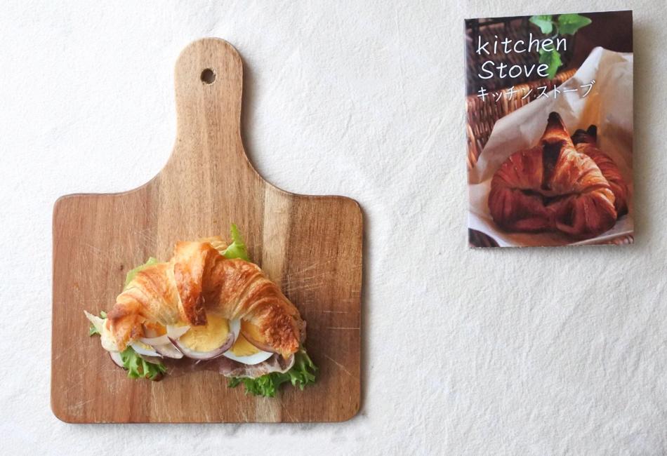 峠のクロワッサン サンドイッチ