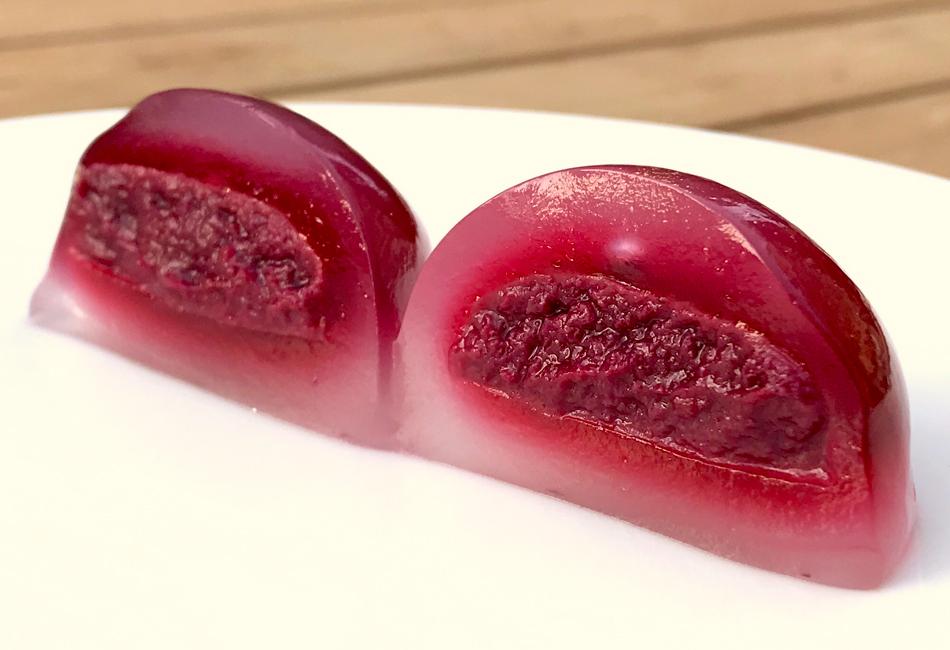 彩りのしずく 苺&ラズベリー 断面
