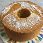 ローシュガー・グルテンフリーのふわふわシフォンケーキ 21cm