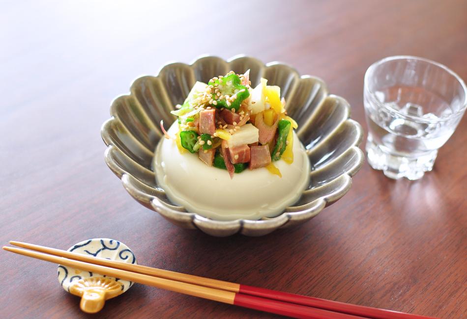炭焼き焼豚 豆腐
