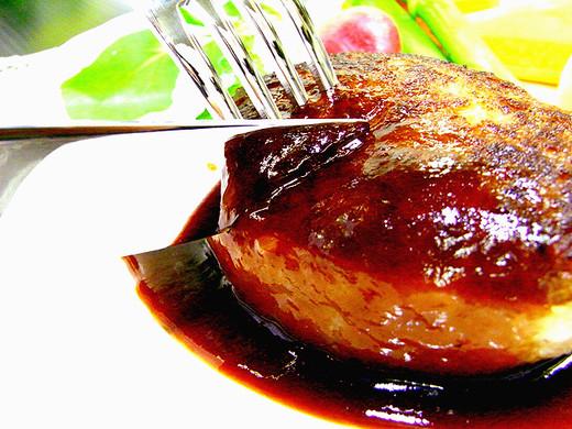イベリコ豚肉100%ハンバーグ4個セット