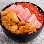 海鮮 三色丼