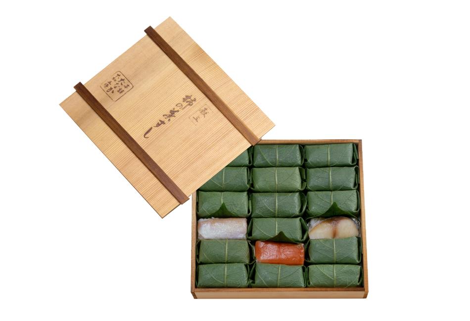 柿の葉寿司 木箱