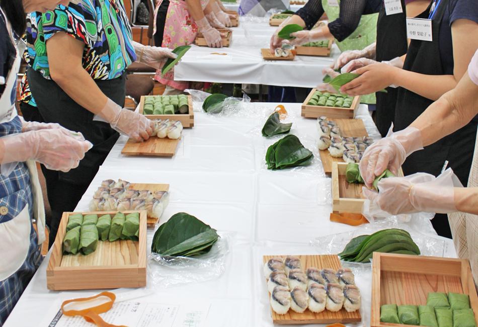 柿の葉寿司 講習会