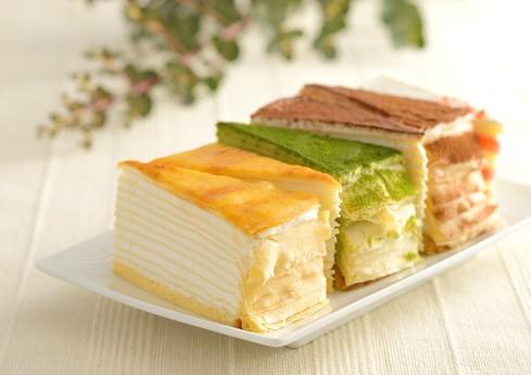 もっちり食感の手作りミルクレープ5種食べ比べセット