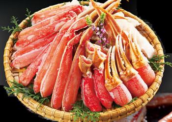 カット済みズワイ蟹1.2kg(総重量1.4kg 2〜4人前)