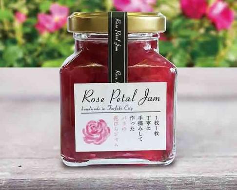 バラの花びらジャム
