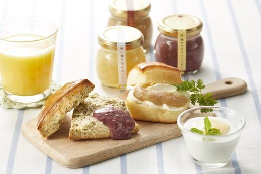 「自然栗本舗ジャムバター3種つめあわせ」ゆずバター、ラズベリーバター、マロンバター