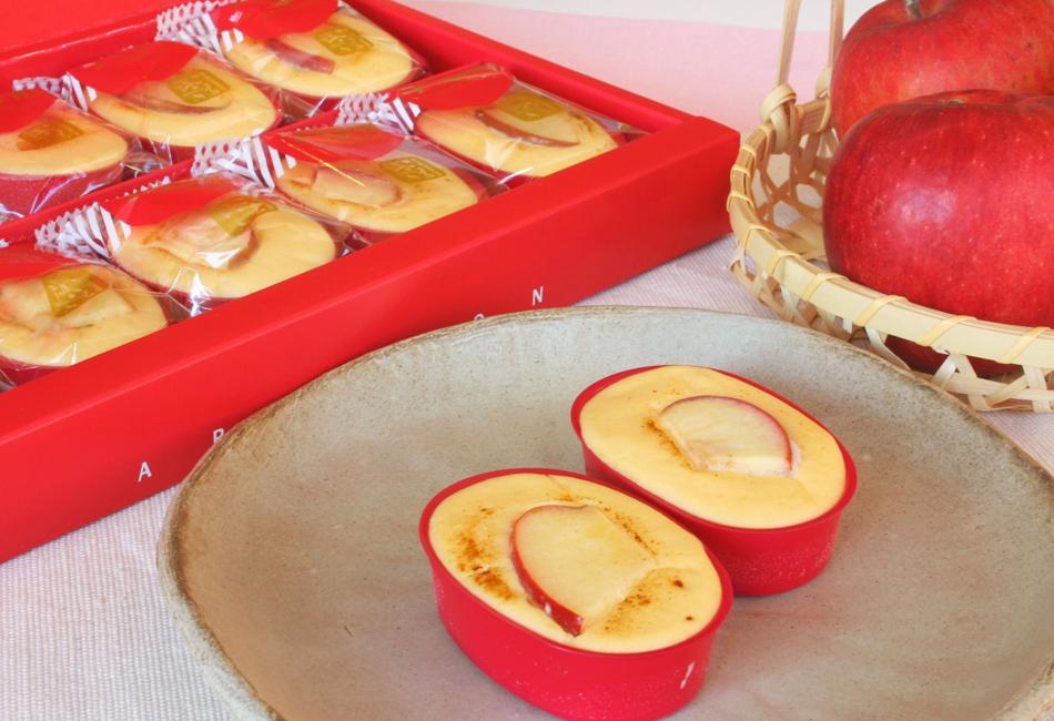 朝の八甲田 りんご