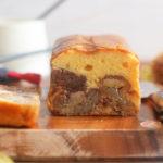 栗のケーキ 断面