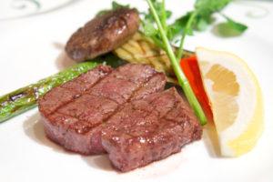オリーブ牛 ランプステーキ カット