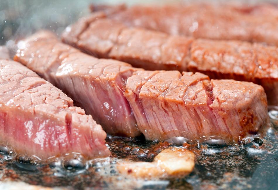 オリーブ牛 ロースステーキ カット