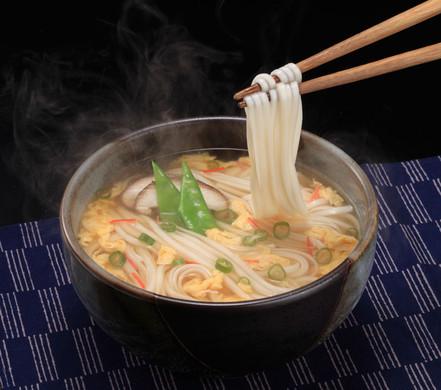 """スープ""""で""""うどん4袋(8食入)"""