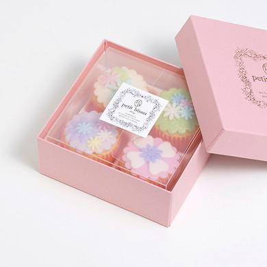 ギフトセット フレール デコレーション カップケーキ 4個セット/petit bisou(プティビズ)芦屋