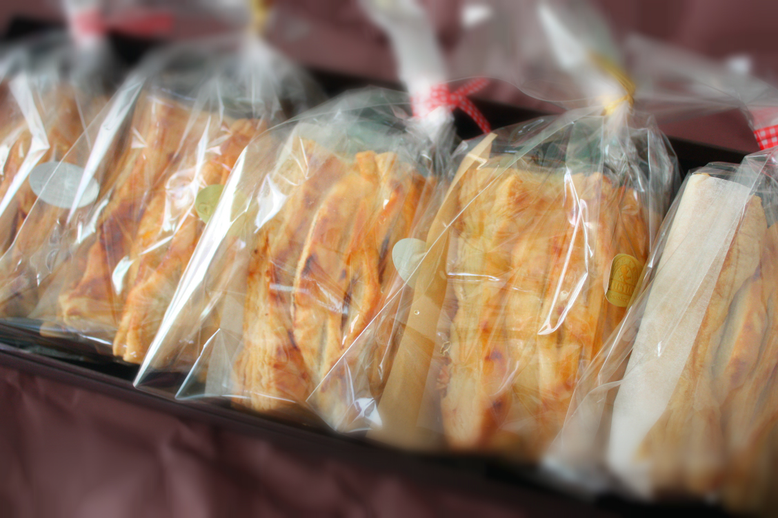 タムラファームアップルパイの個包装の画像