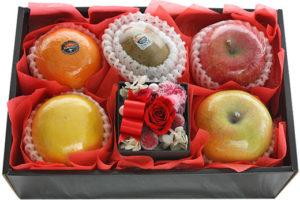 お花とフルーツセット