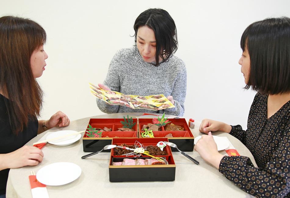 最高級A5ランク 仙台牛 お肉のおせち 試食