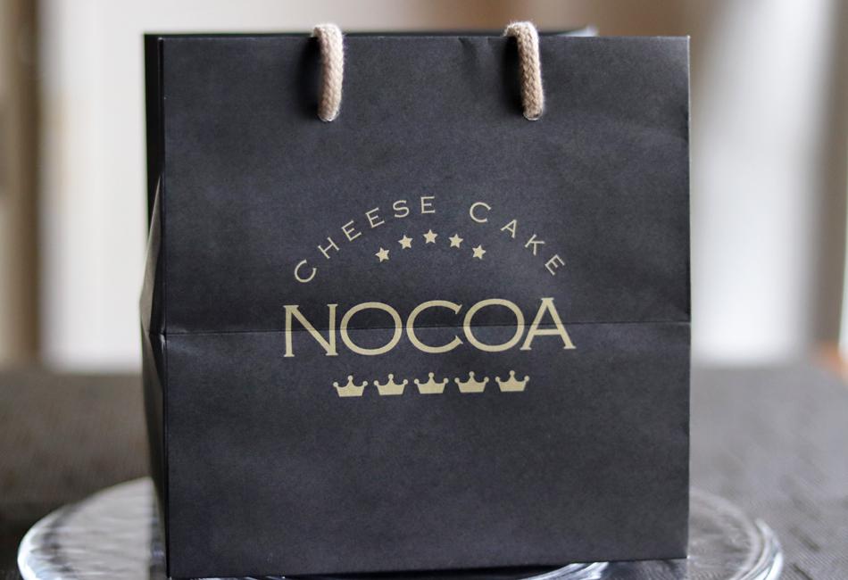 チーズケーキ NOCOA 紙袋