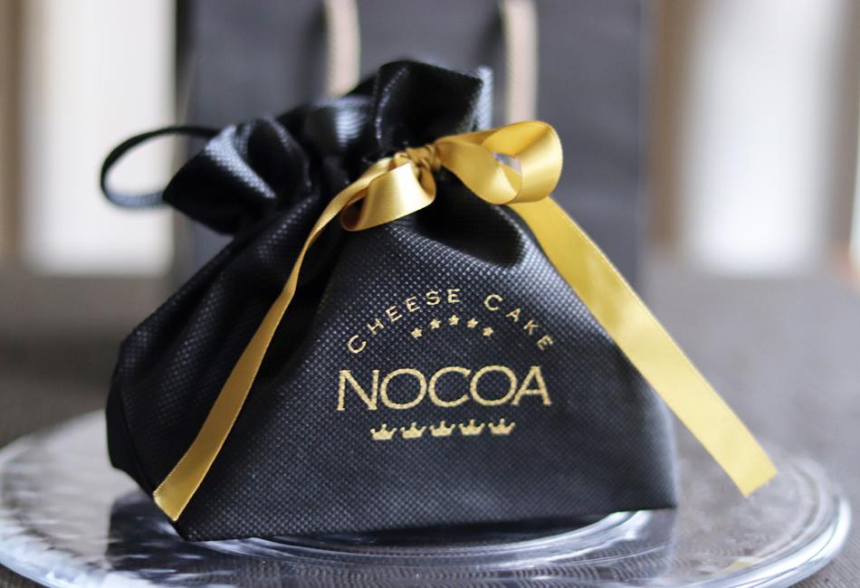 チーズケーキ NOCOA パッケージ袋