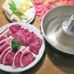 鹿しゃぶ 1kg(ロース肉約500g+モモ肉約500g)