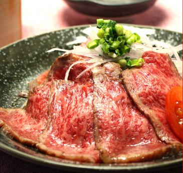 【化粧箱入・とろ赤身250gセット】 新食感!近江牛 特選和風とろ生ローストビーフ