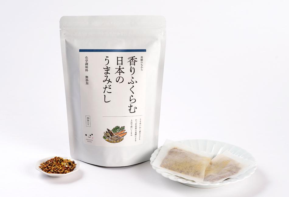 香りふくらむ日本のうまみだし