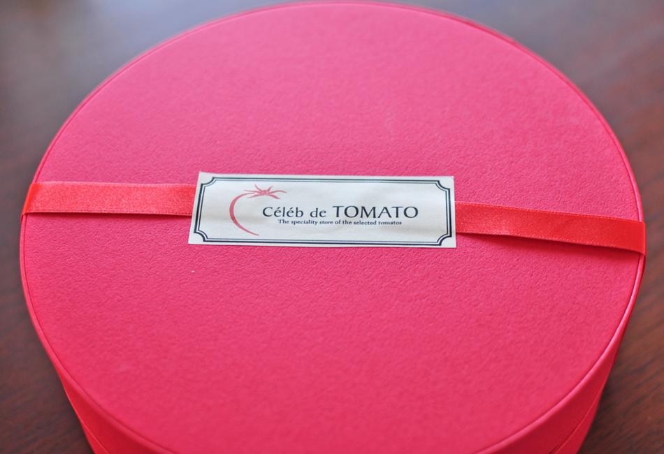 トマトの宝石箱 箱