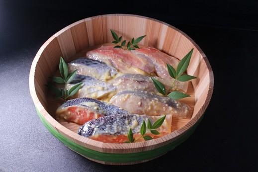 骨とり魚の西京漬けセット8切れセット『優海』