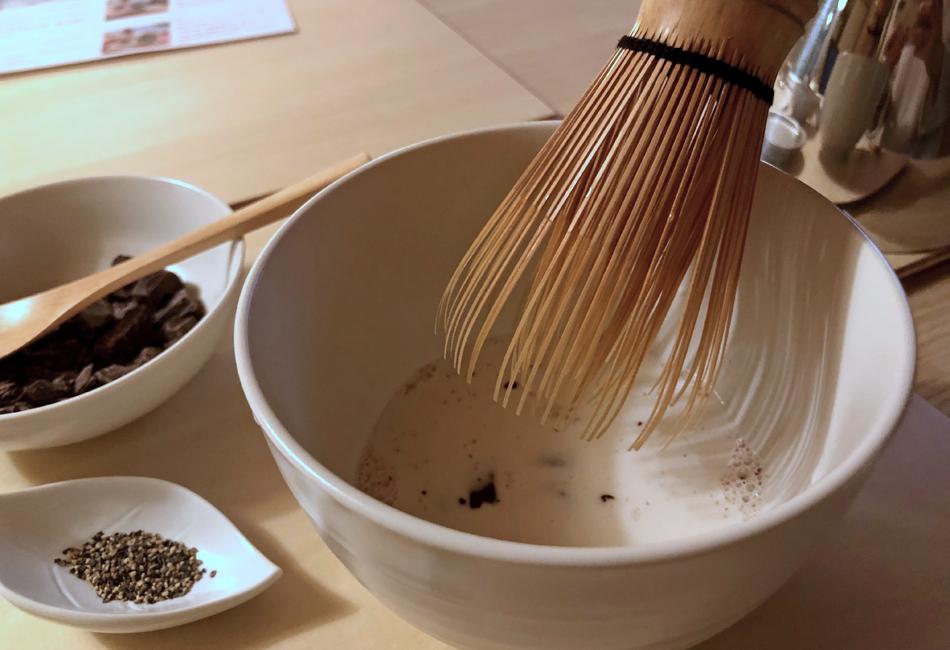セゾン ド セツコ京都ショコラトリー 茶筅