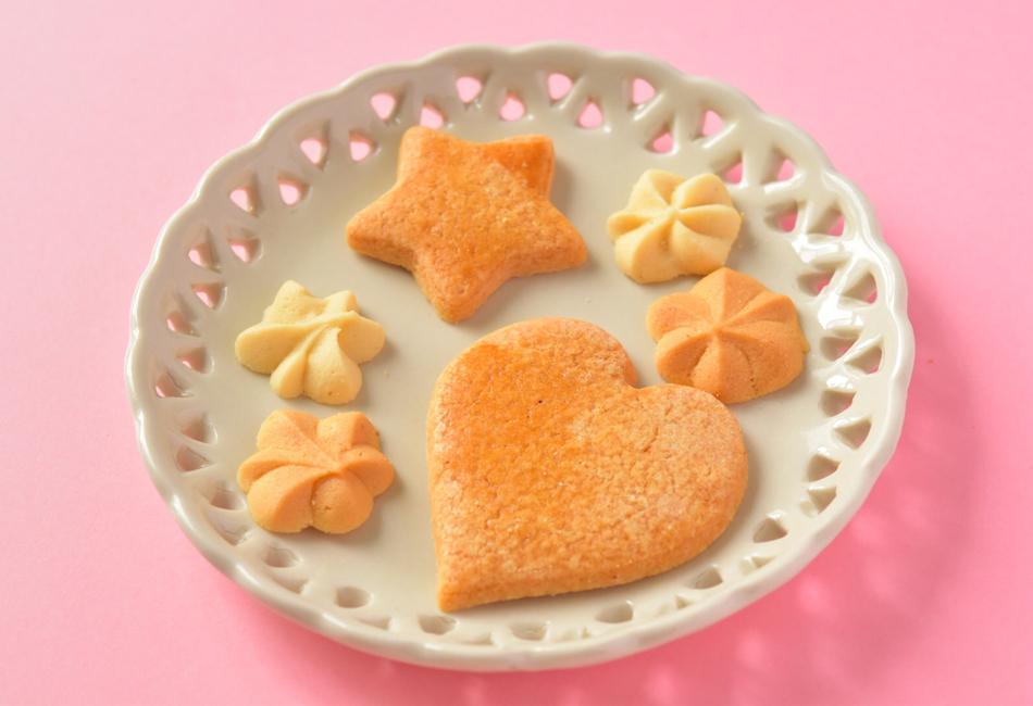 メルヘンクッキー缶 クッキー