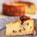 ゴルゴンゾーラベイクドチーズケーキ アップ