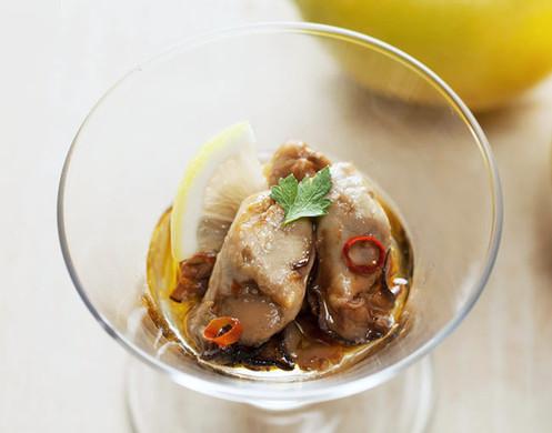 牡蠣と広島レモンのアヒージョ 小瓶