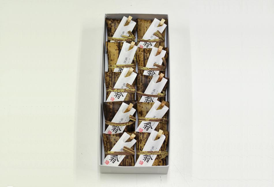 菓匠 翁 10個入り パッケージ