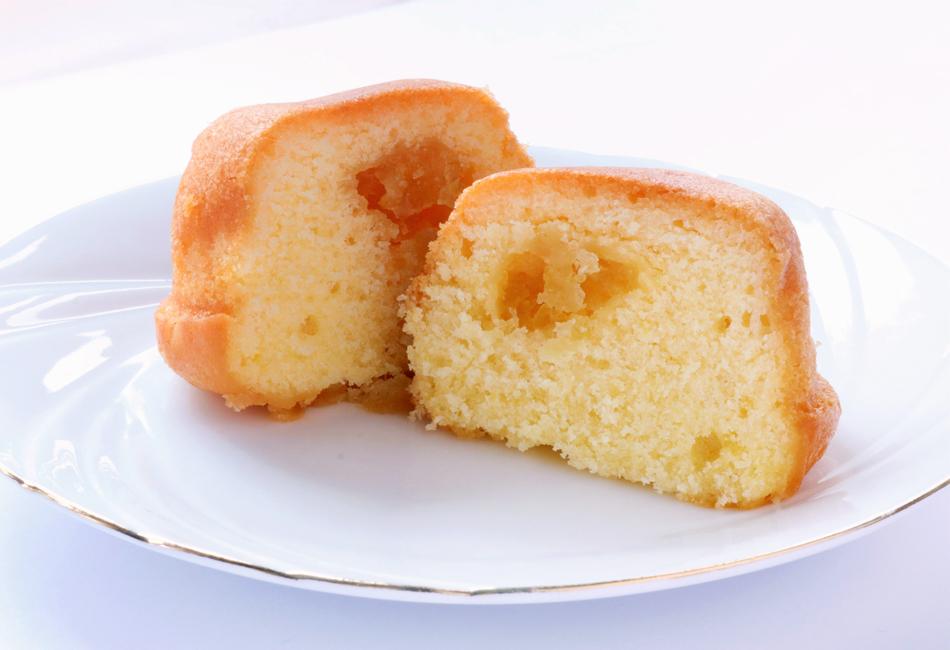 レモンケーキ 断面