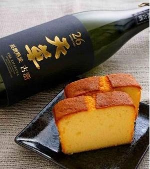 純米焼酎ケーキ「天草」 8個入り