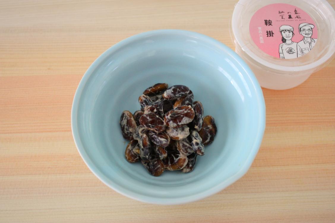 菊水食品 日立納豆の「いばらき農家の納豆」の中身