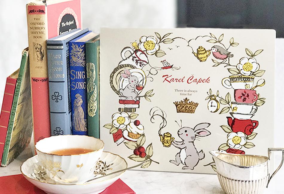カレルチャペック紅茶店 All About Tea缶